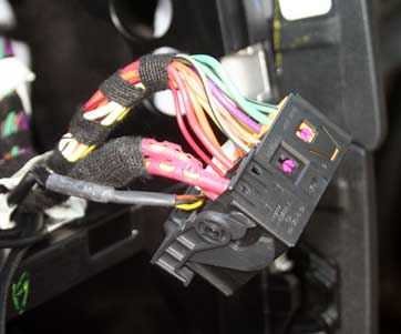 Mercedes audio head unit connector picture