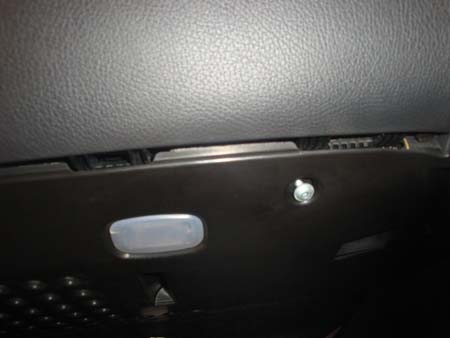 W211 footwell panel screws picture